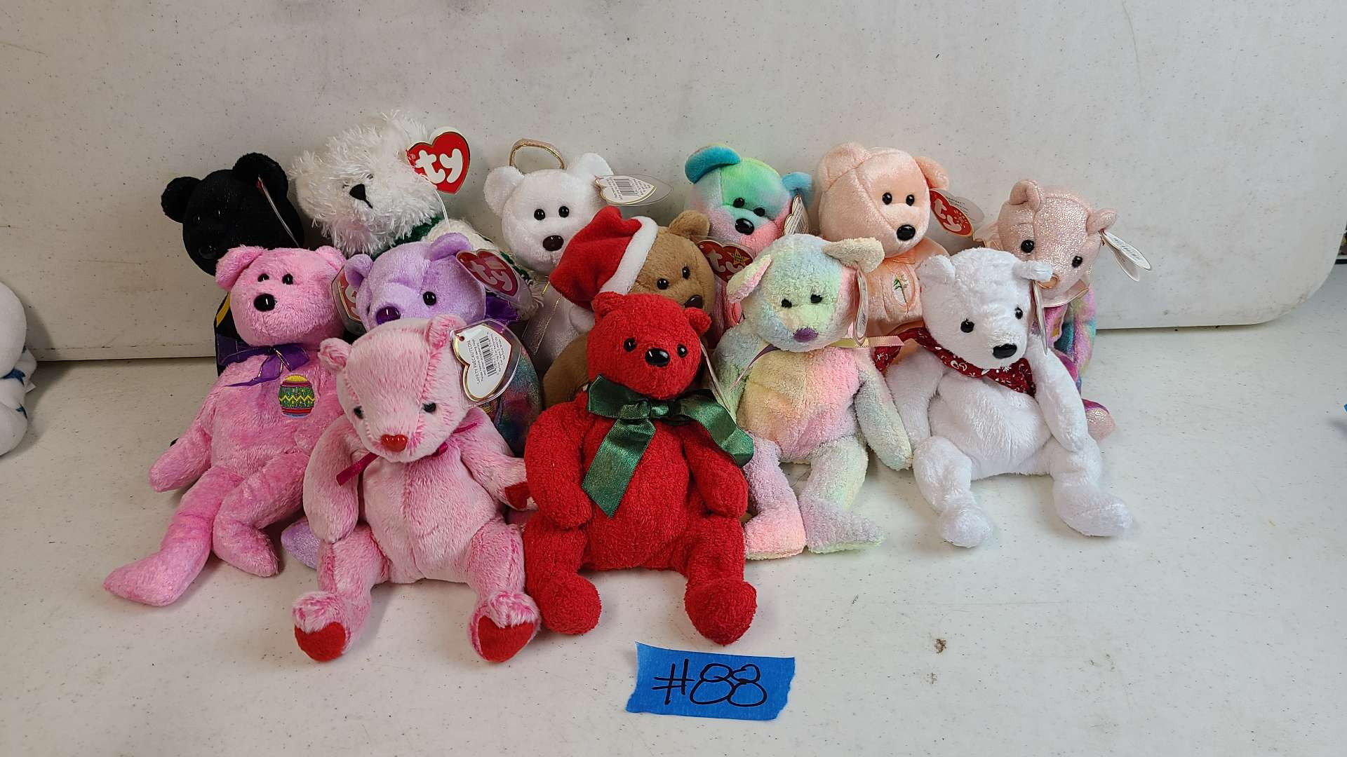 Lot # 88 Lot of Various TY Beanie Baby Bears