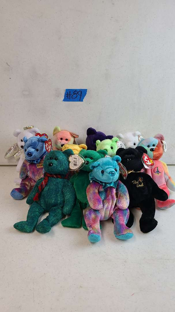 Lot # 89 Lot of Various TY Beanie Baby Bears