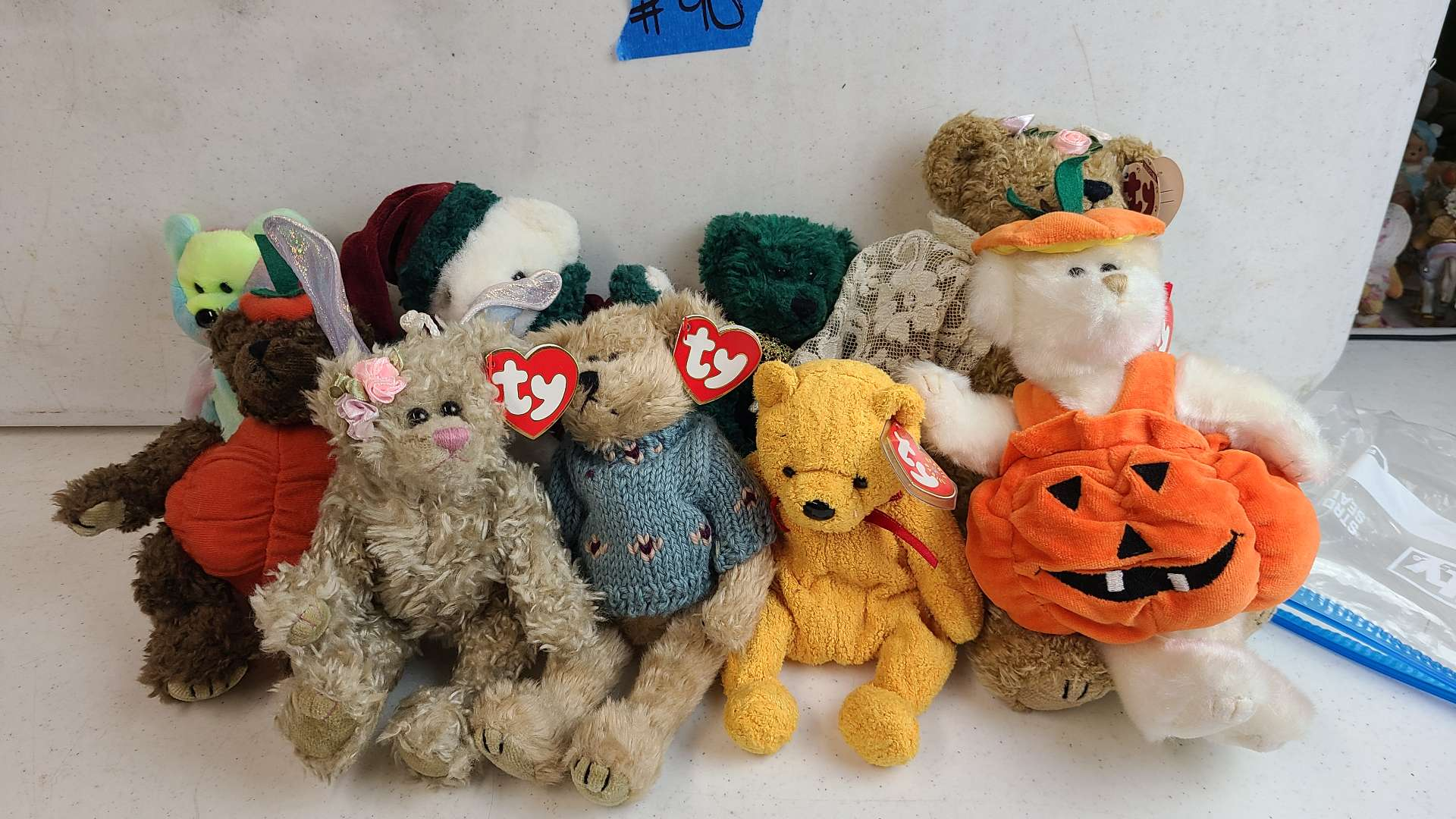Lot # 90 Lot of Various TY Beanie Baby Bears