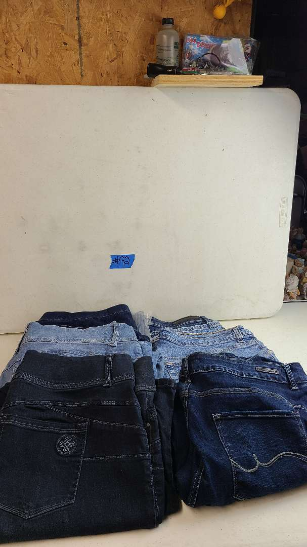 Lot # 92 Lot of Womens Jeans (Size 1X-3X)