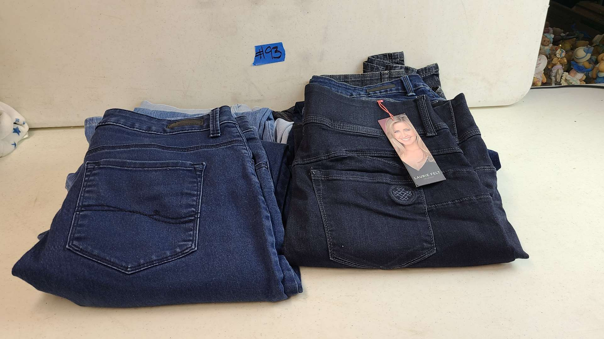 Lot # 93 Lot of Womens Jeans (Size 1X-3X)