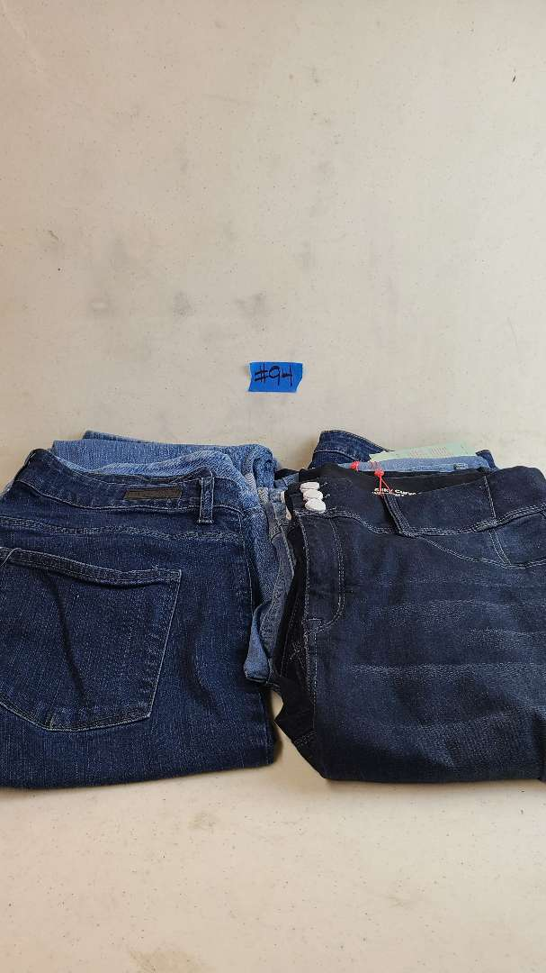 Lot # 94 Lot of Womens Jeans (Size 1X-3X)
