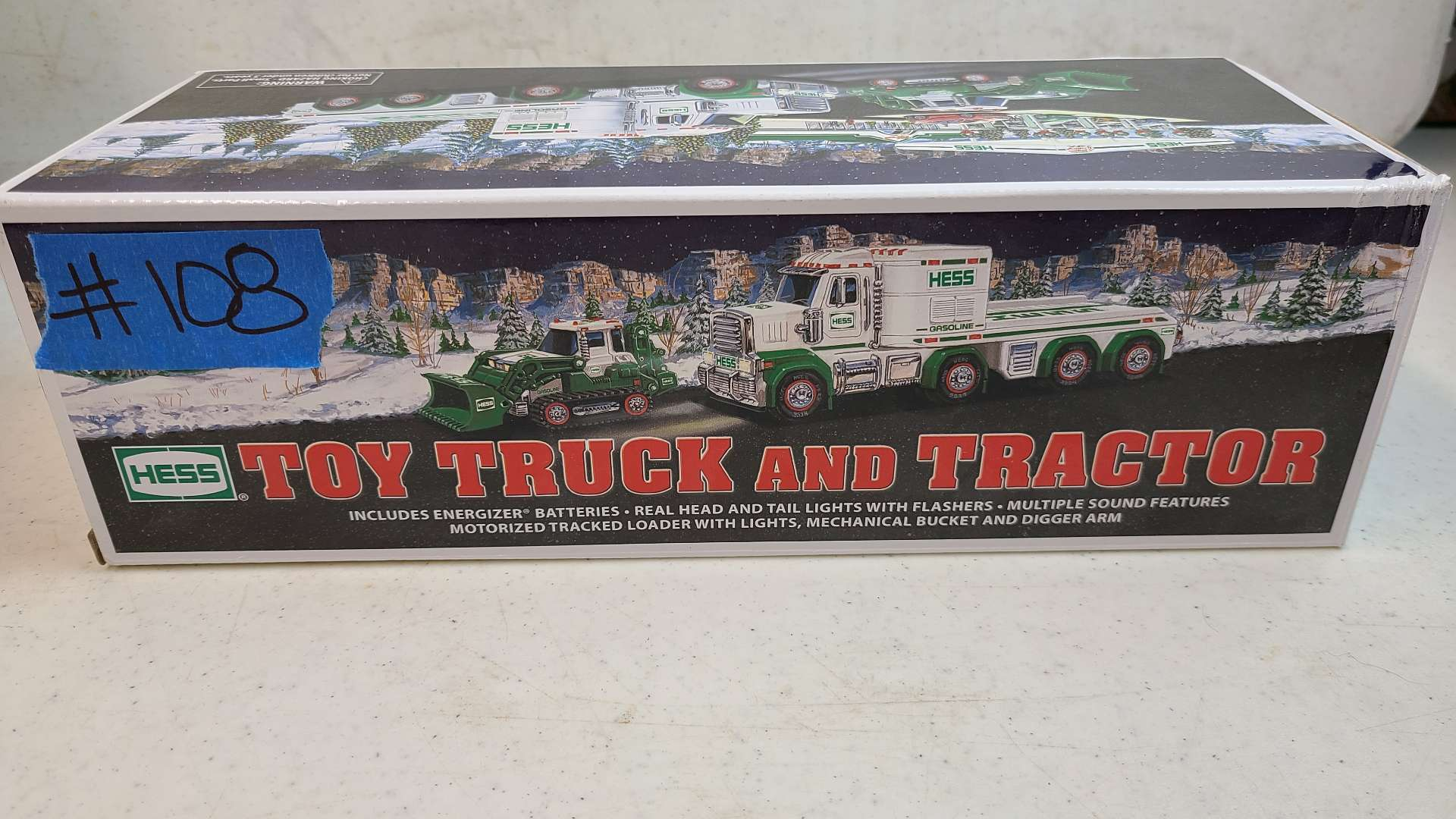 Lot # 108 Hess Toy Truck & Tractor W/ Box