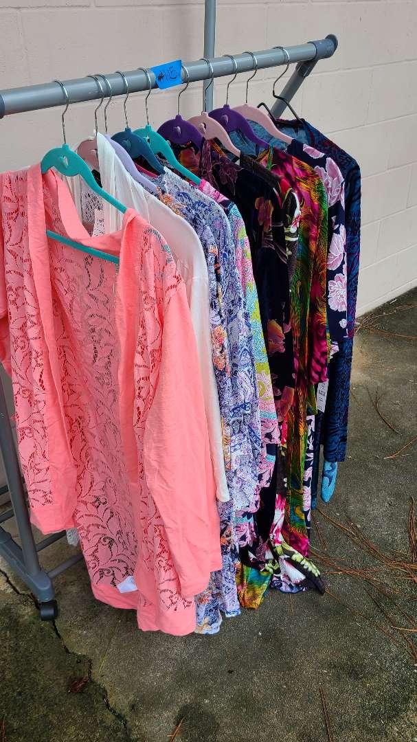 Lot # 115 Lot of Womens Shirts (1XL-2XL)