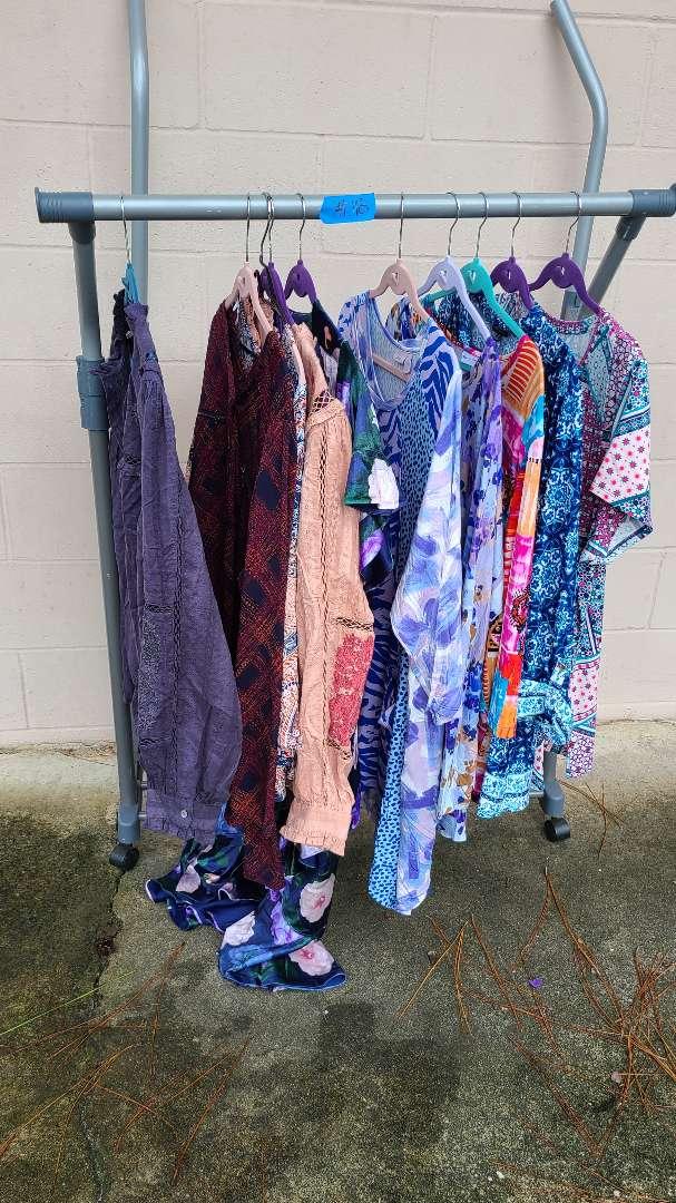 Lot # 118 Lot of Womens Shirts (1XL-2XL)