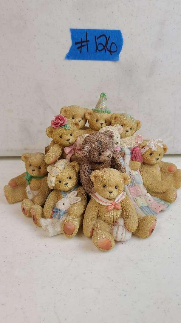 "Lot # 126 Enesco ""Cherished Teddies"" Collectable Figurine"