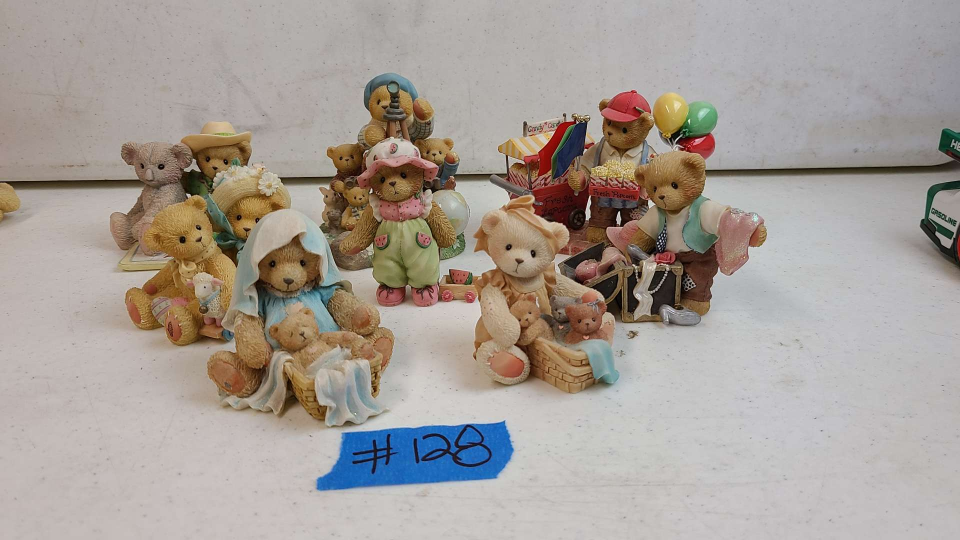 """Lot # 128 Lot of Enesco """"Cherished Teddies"""" Collectable Figurines"""