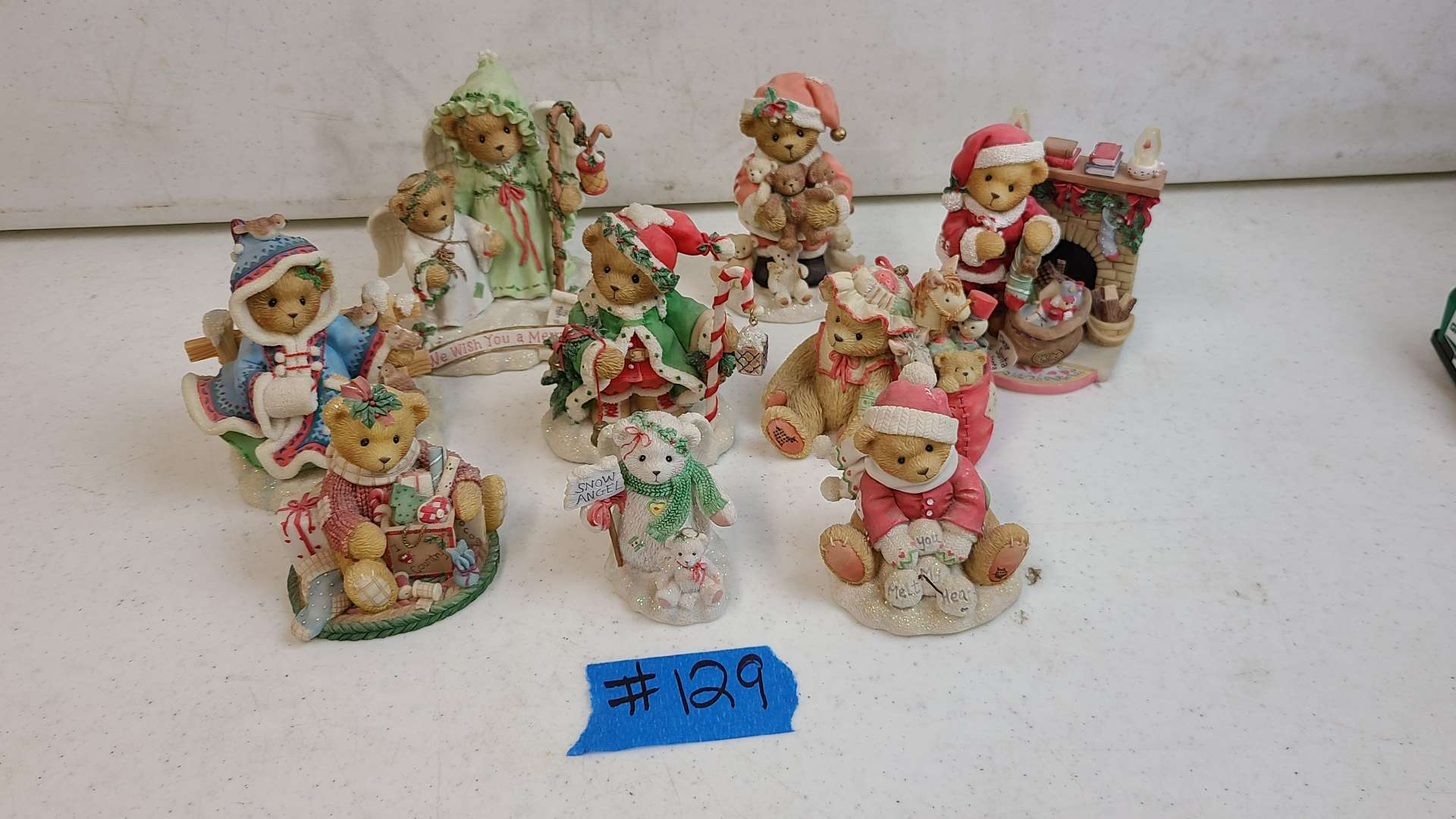 """Lot # 129 Lot of Enesco """"Cherished Teddies"""" Collectable Figurines"""