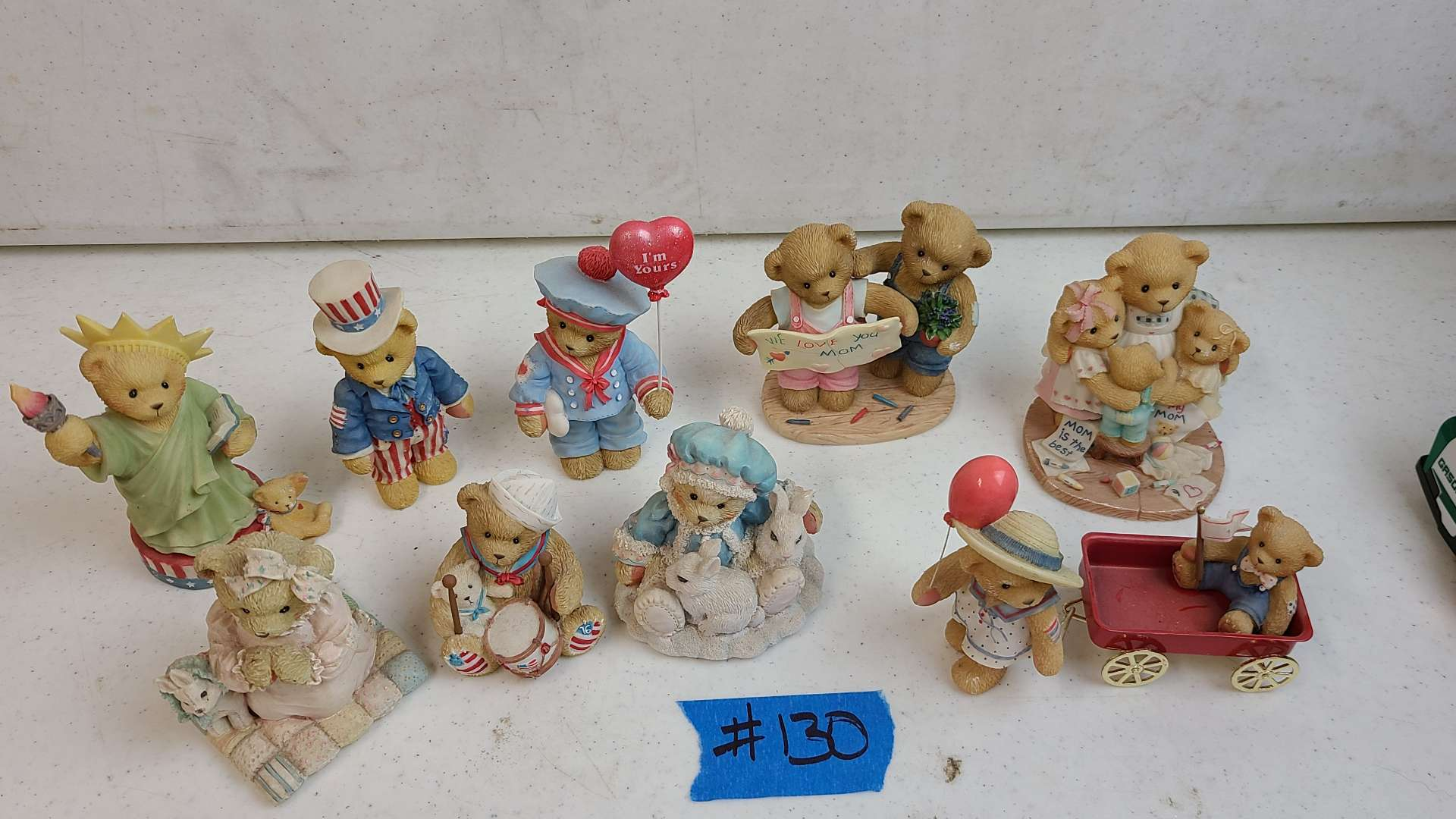 """Lot # 130 Lot of Enesco """"Cherished Teddies"""" Collectable Figurines"""