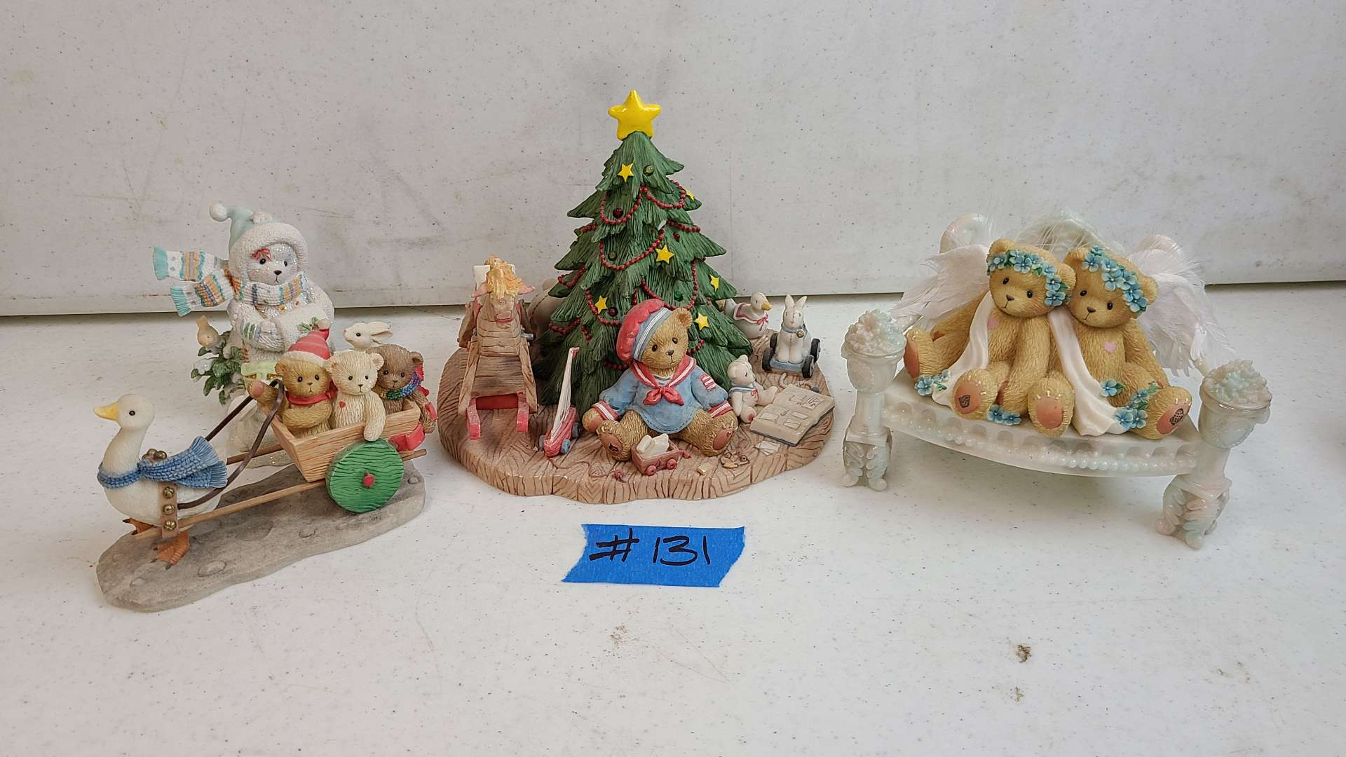 """Lot # 131 Lot of Enesco """"Cherished Teddies"""" Collectable Figurines"""
