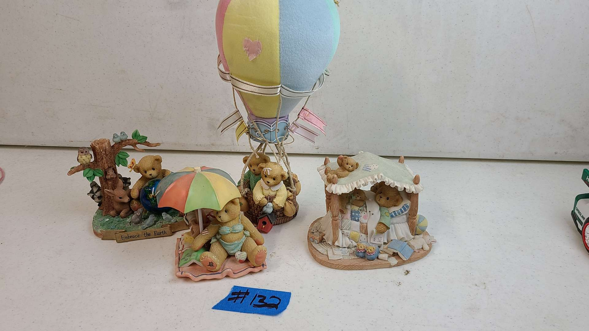 """Lot # 132 Lot of Enesco """"Cherished Teddies"""" Collectable Figurines"""
