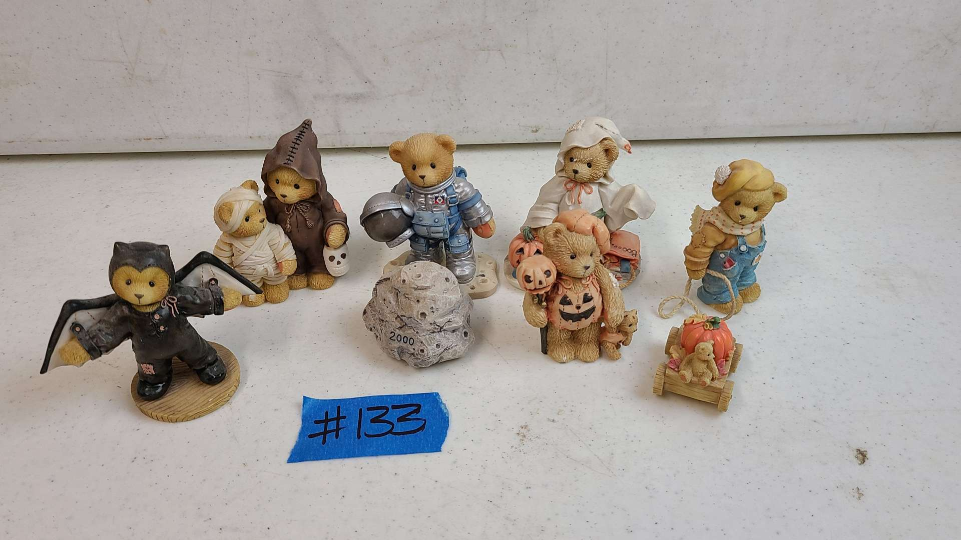 """Lot # 133 Lot of Enesco """"Cherished Teddies"""" Collectable Figurines"""