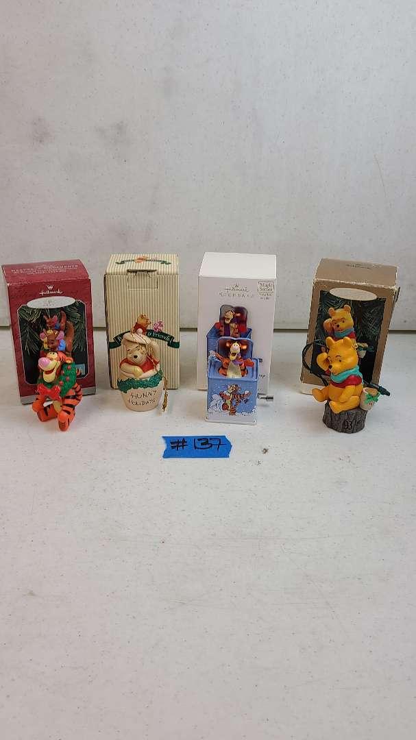 Lot # 137 Lot of Hallmark Keepsake Disney Christmas Ornaments