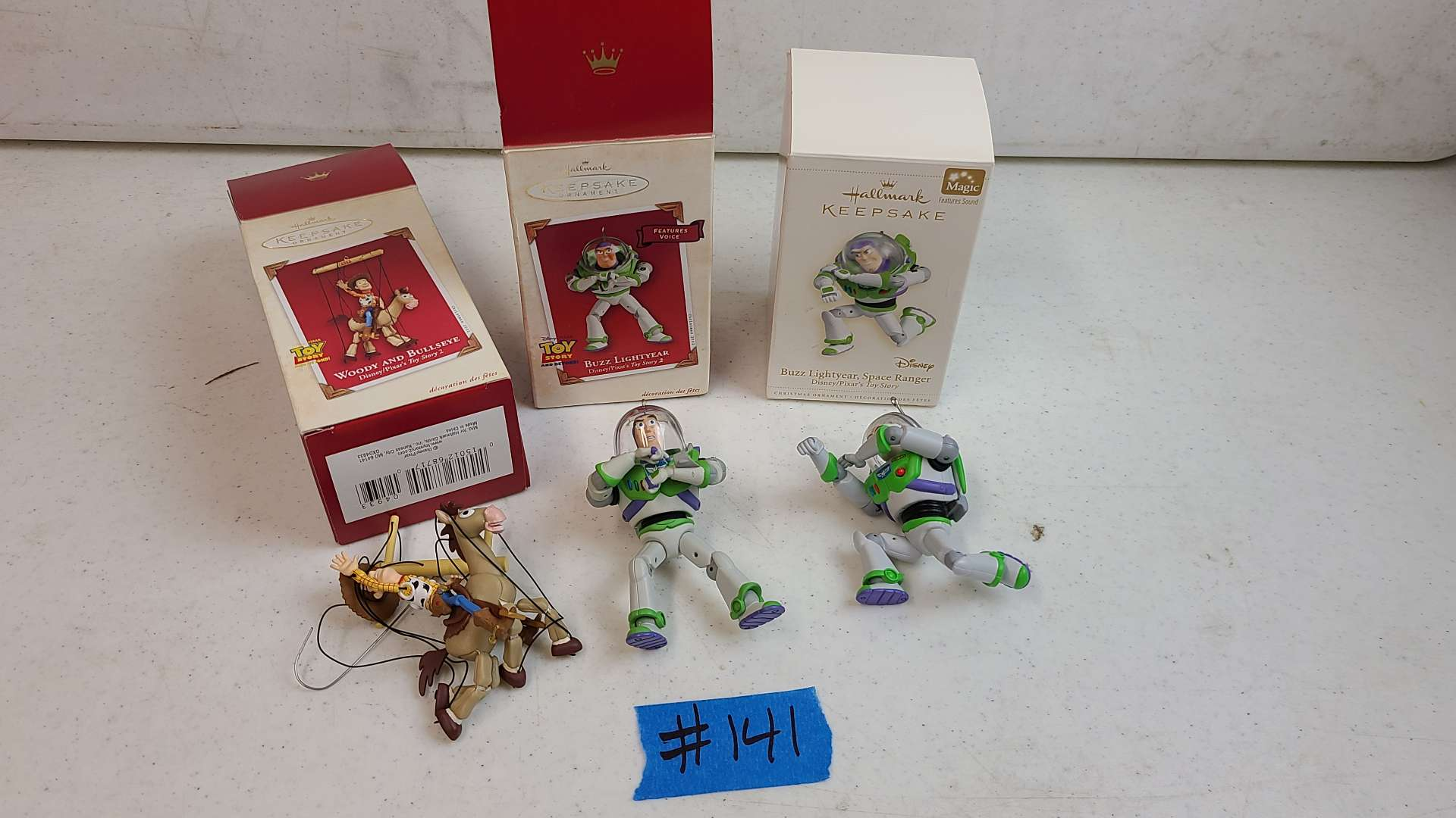 Lot # 141 Lot of Hallmark Keepsake Chirstmas Ornaments