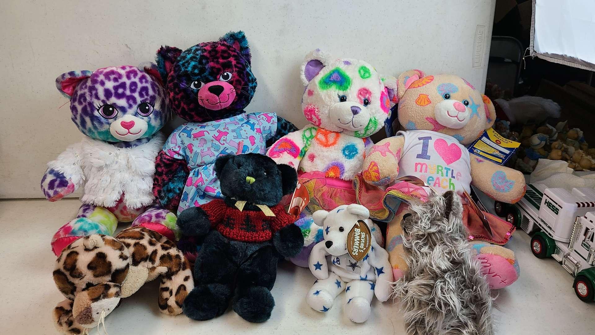 Lot # 152 Lot of Build-A-Bear Workshop Bears