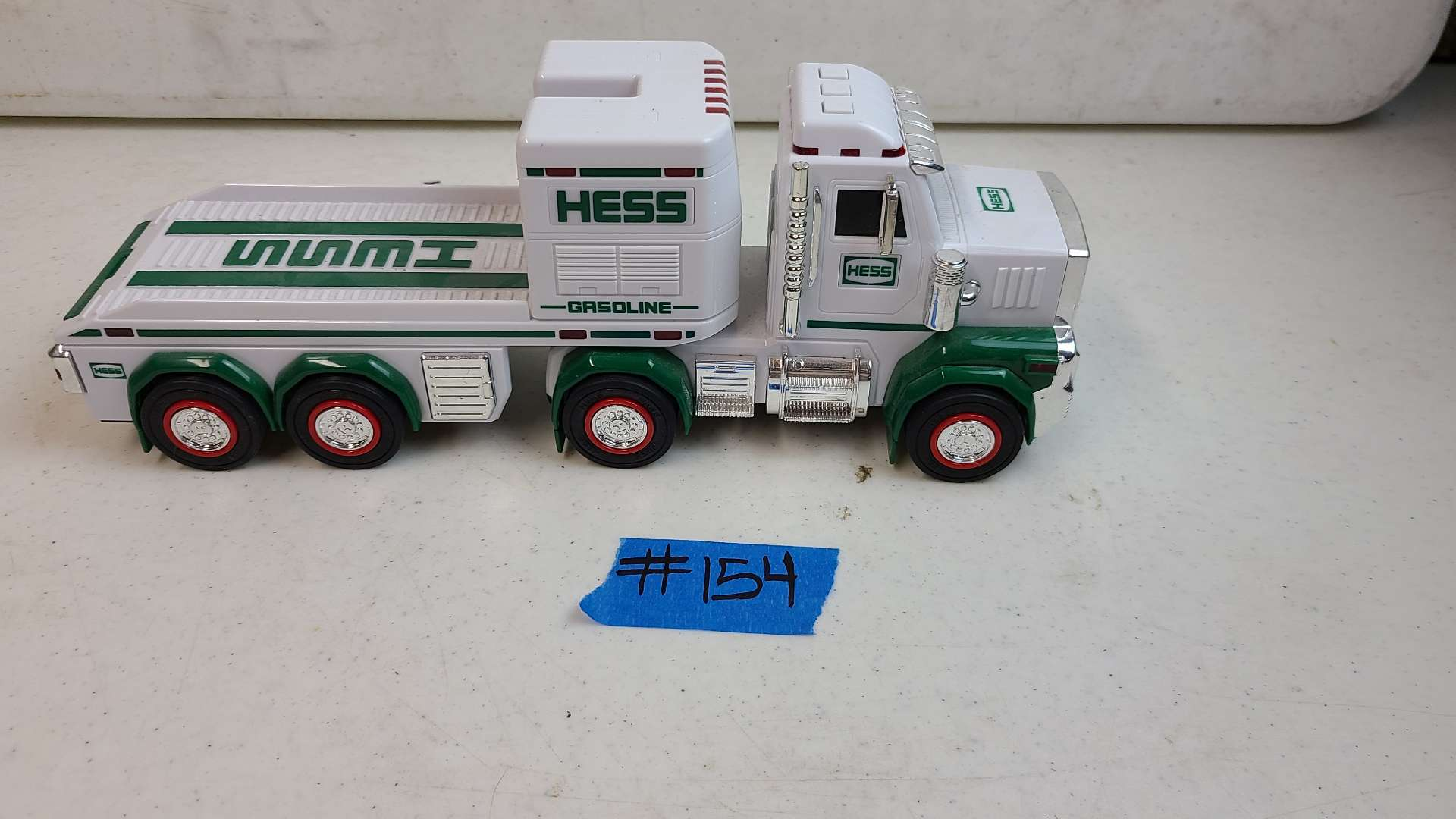 Lot # 154 HESS Truck and Trailer Toy