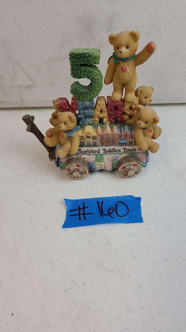 "Lot # 160 Enesco ""Cherished Teddies"" Collectable Figurine"