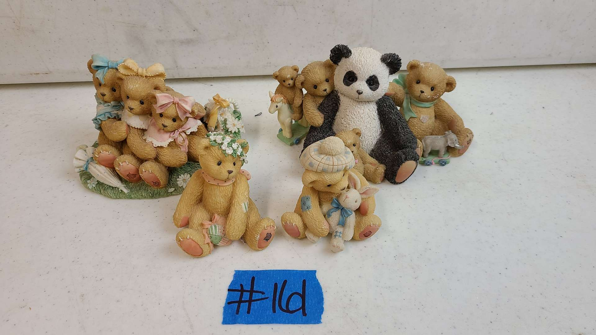 """Lot # 161 Lot of Enesco """"Cherished Teddies"""" Collectable Figurines"""