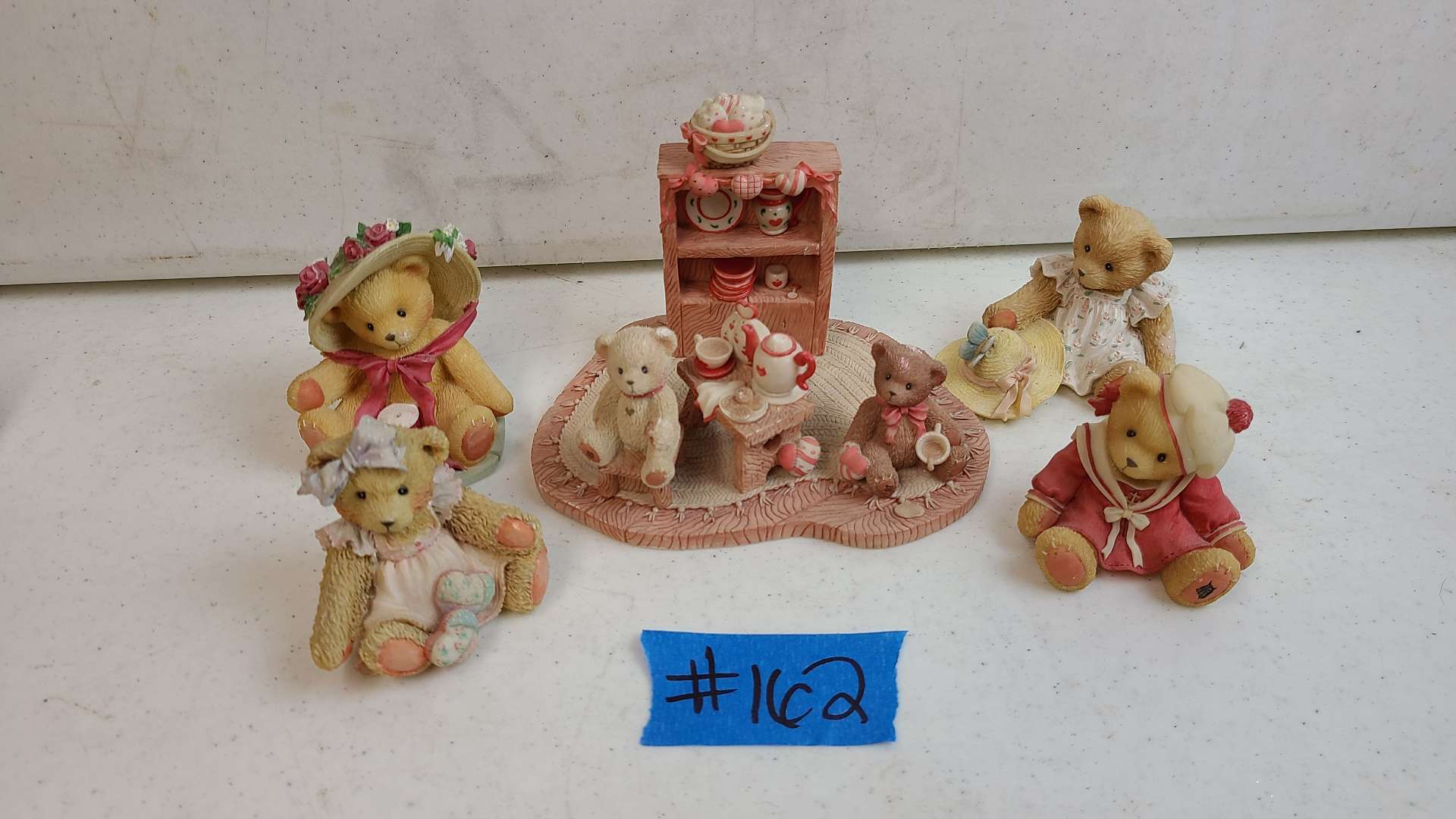 """Lot # 162 Lot of Enesco """"Cherished Teddies"""" Collectable Figurines"""