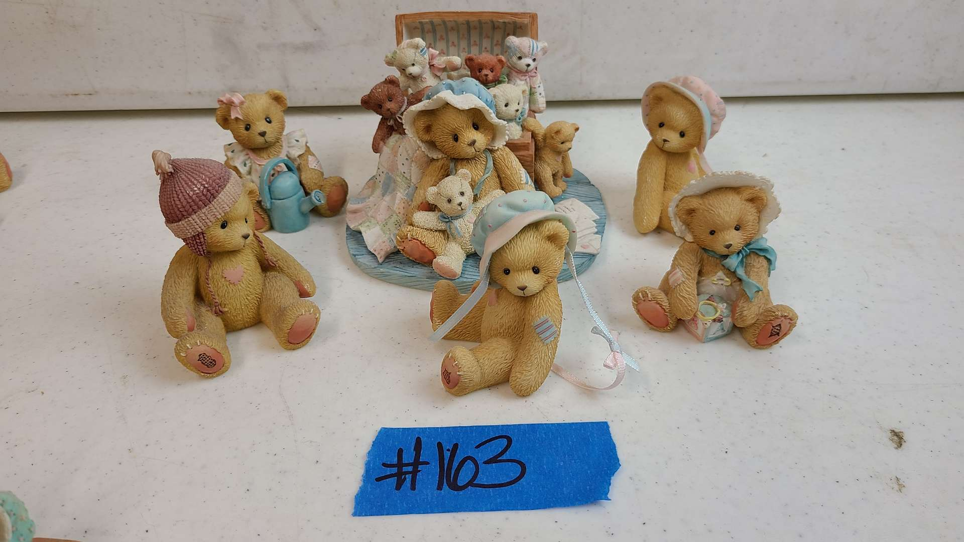 """Lot # 163 Lot of Enesco """"Cherished Teddies"""" Collectable Figurines"""