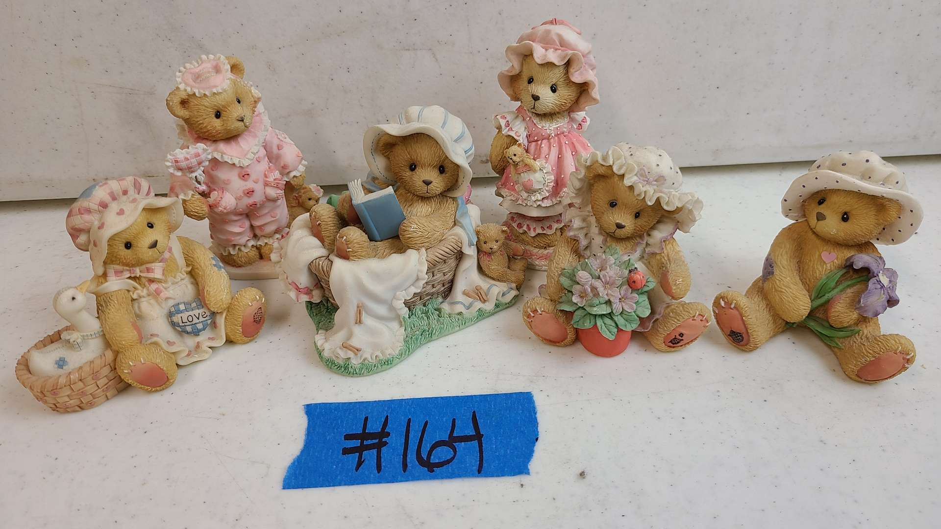 """Lot # 164 Lot of Enesco """"Cherished Teddies"""" Collectable Figurines"""