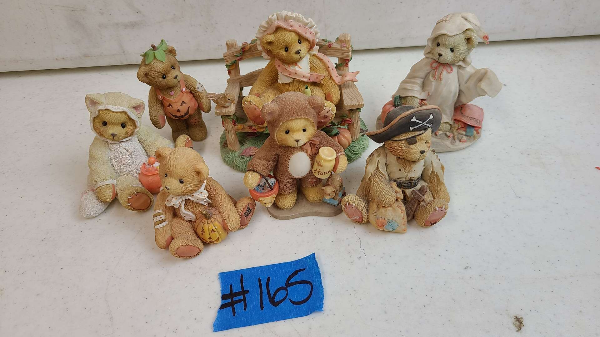 """Lot # 165 Lot of Enesco """"Cherished Teddies"""" Collectable Figurines"""