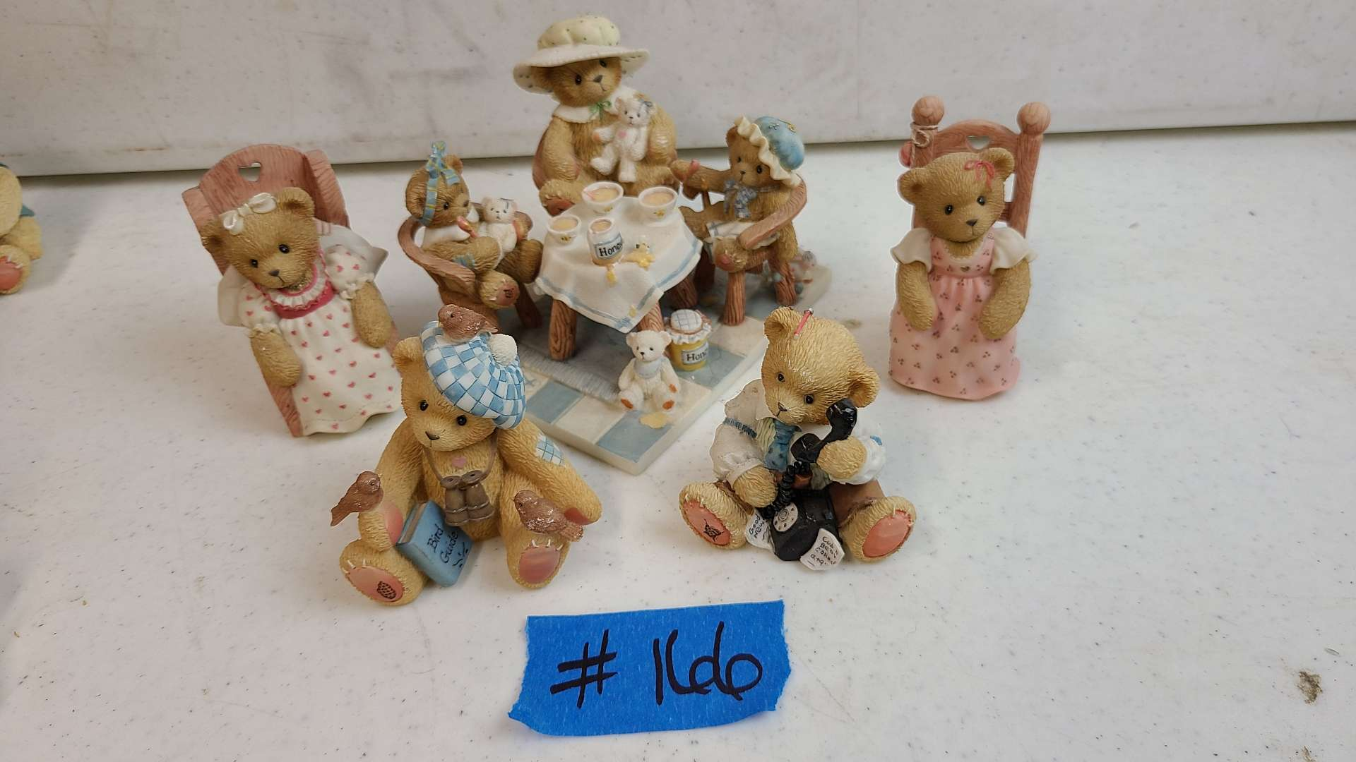 """Lot # 166 Lot of Enesco """"Cherished Teddies"""" Collectable Figurines"""