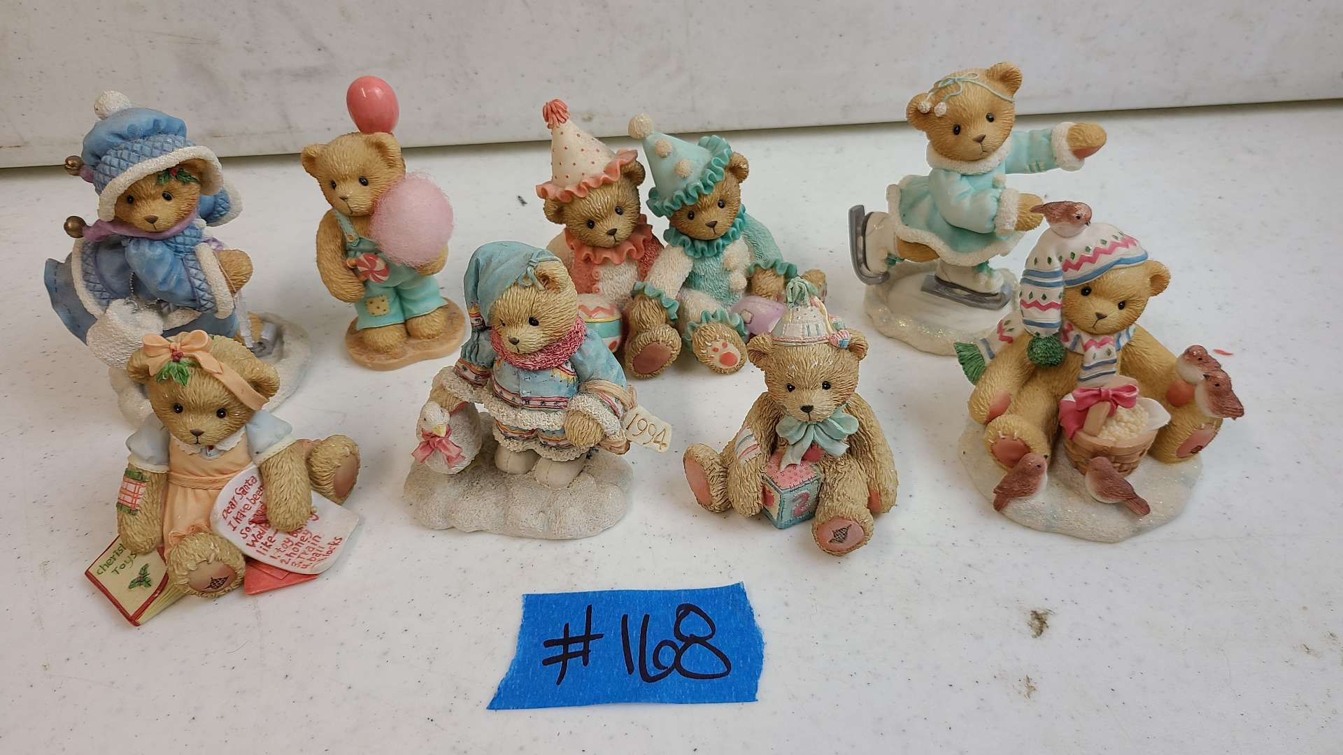 """Lot # 168 Lot of Enesco """"Cherished Teddies"""" Collectable Figurines"""