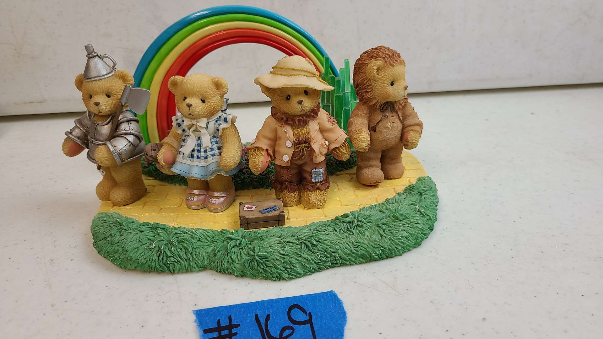 """Lot # 169 Lot of Enesco """"Cherished Teddies"""" Collectable Figurines"""