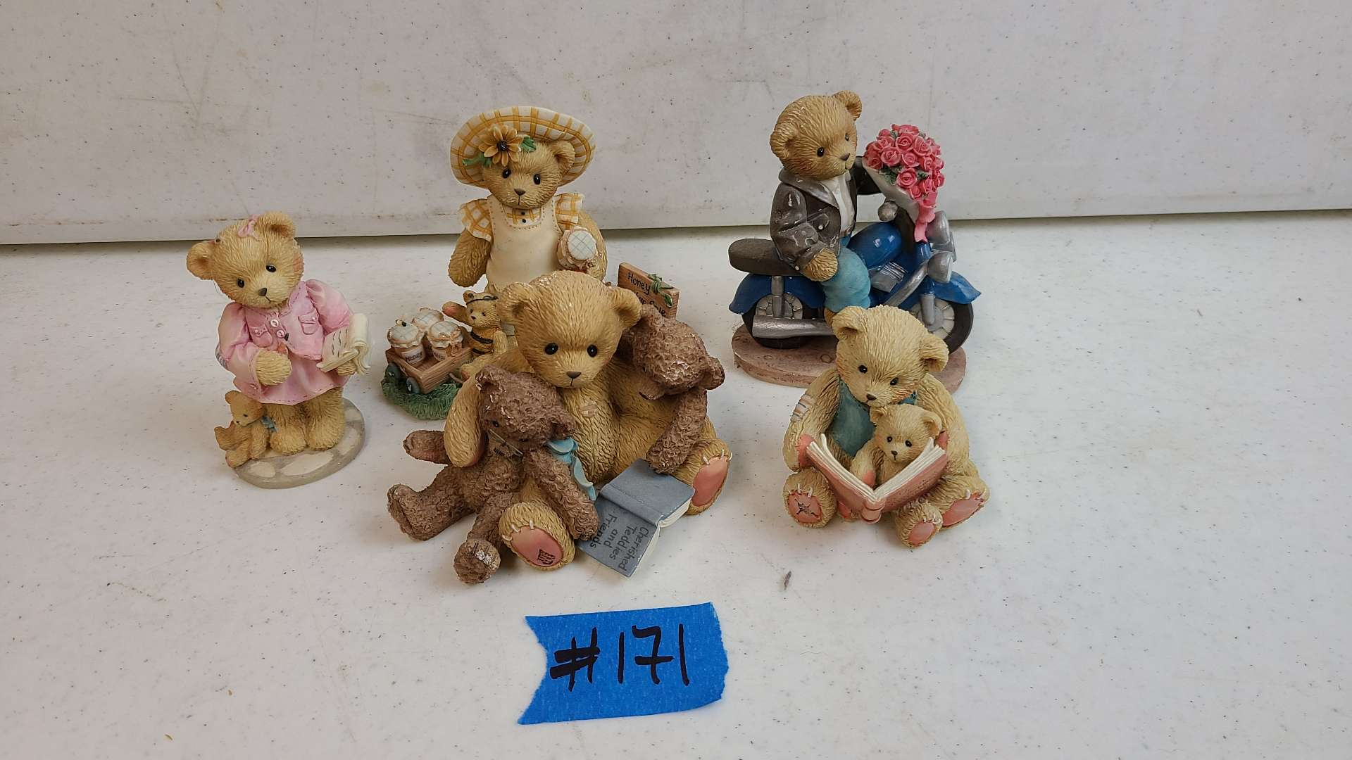 """Lot # 171 Lot of Enesco """"Cherished Teddies"""" Collectable Figurines"""