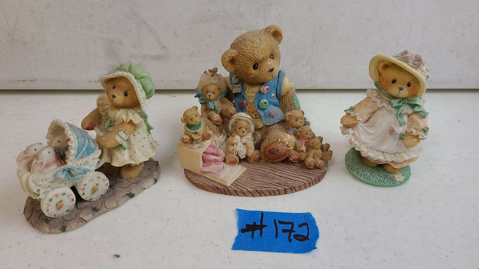 """Lot # 172 Lot of Enesco """"Cherished Teddies"""" Collectable Figurines"""