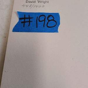 """Lot # 198 """"Mountain Lamb"""" by David Wright Signed & Numbered Lithograph"""