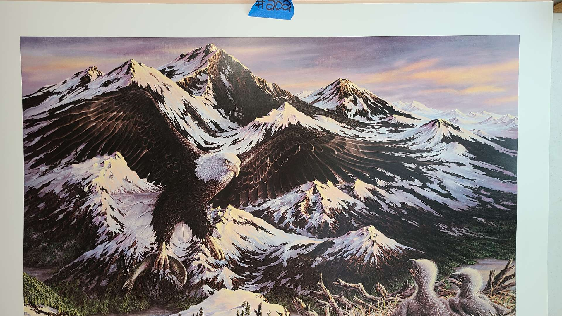 """Lot # 202 """"American Bounty"""" by Steve Kushner Signed & Numbered Lithograph"""
