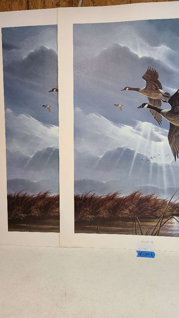 """Lot # 214 """"Voice of the Sky"""" by L.R. Kaatz Signed & Numbered Lithograph"""