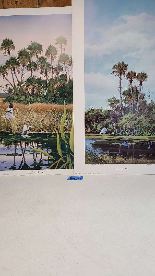 Lot # 236 Lot of 3 Neil Adamson Signed & Numbered Lithographs