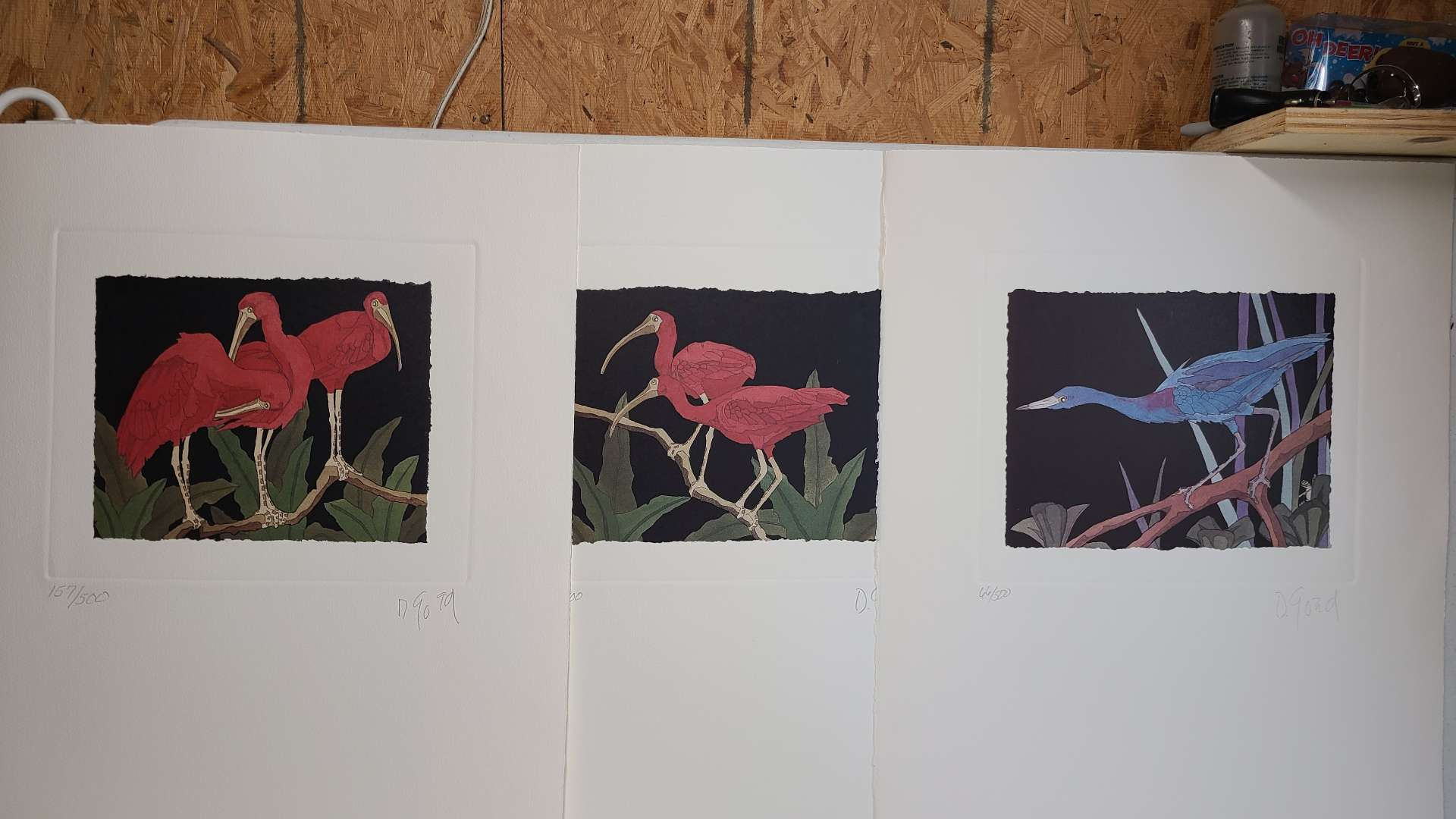 Lot # 238 Lot of 3 Signed & Numbered Lithographs