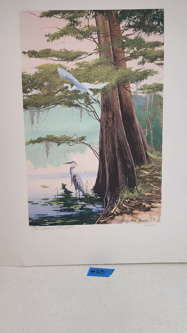 Lot # 251 Neil Adamson Signed & Numbered Lithograph