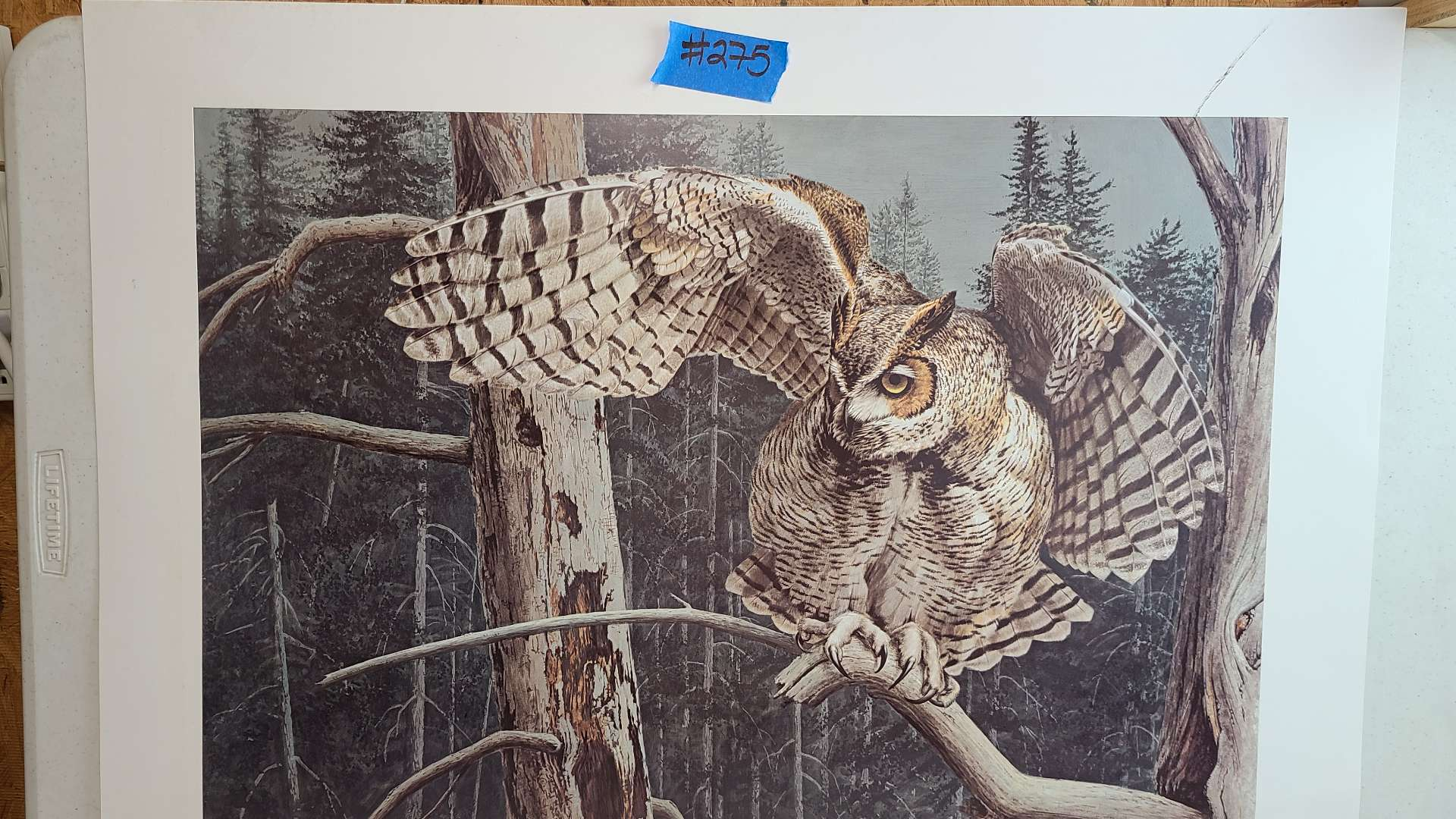 """Lot # 275 """"Balancing Act"""" By Guy Boheleach Signed & Numbered Lithograph"""