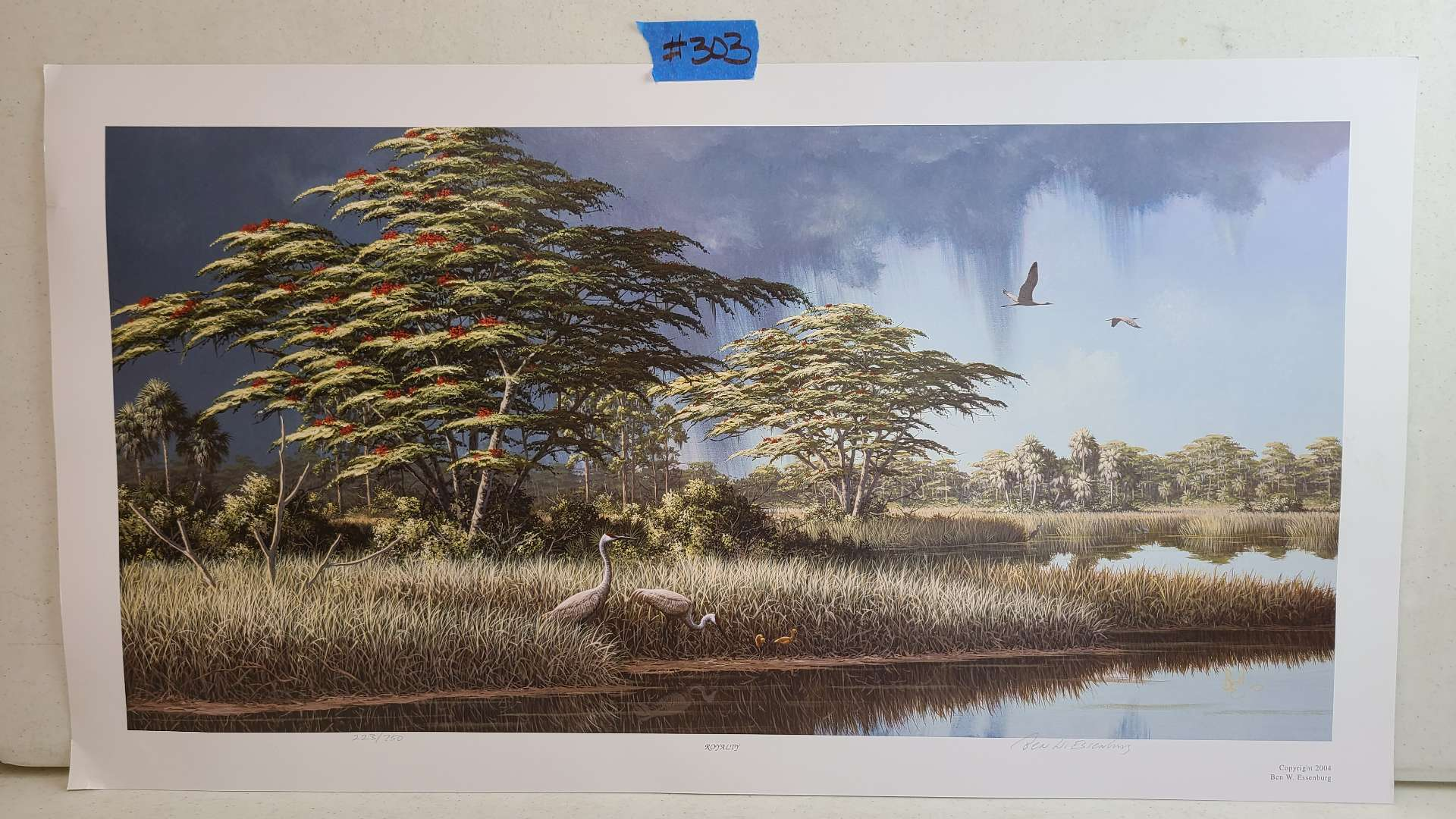 """Lot # 303 """"Royalty"""" By Ben Essenburg Signed & Numbered Lithograph"""