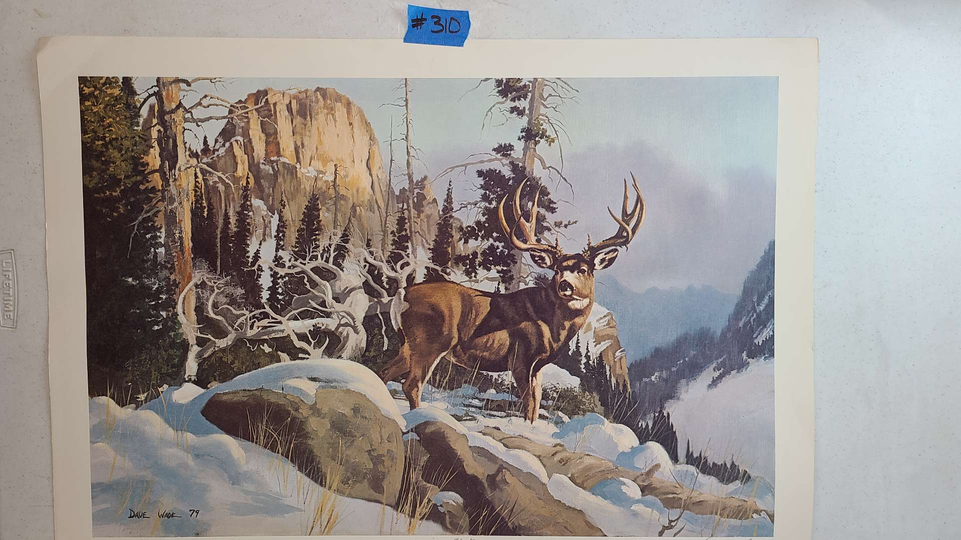 Lot # 310 Lithograph Sunrise Alert By Dave Wade Signed and Numbered
