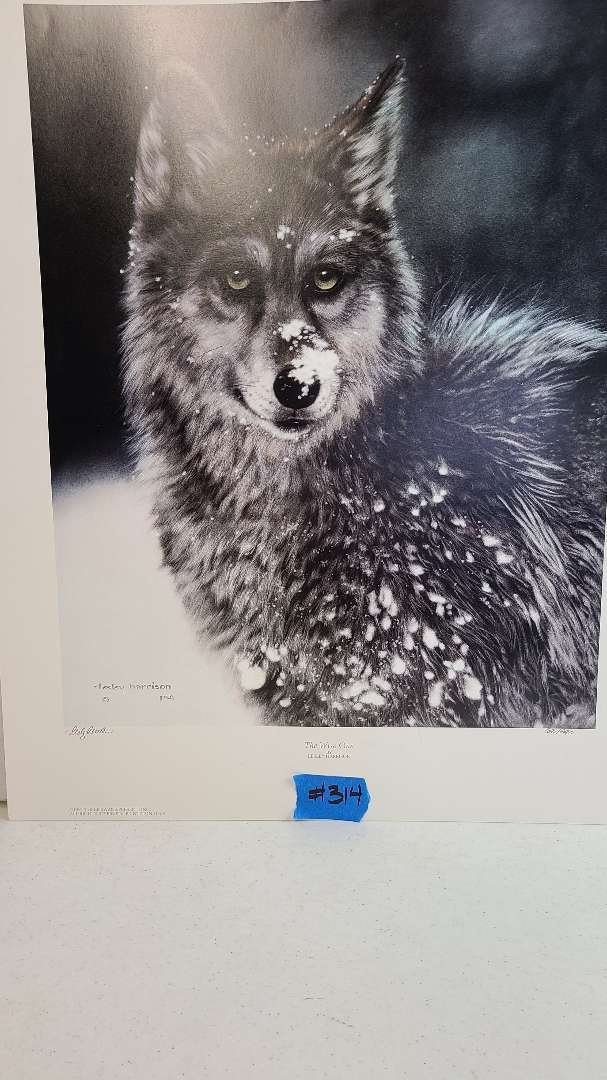 Lot # 314 Lithograph The Wise One by Leslie Harrison signed and numbered