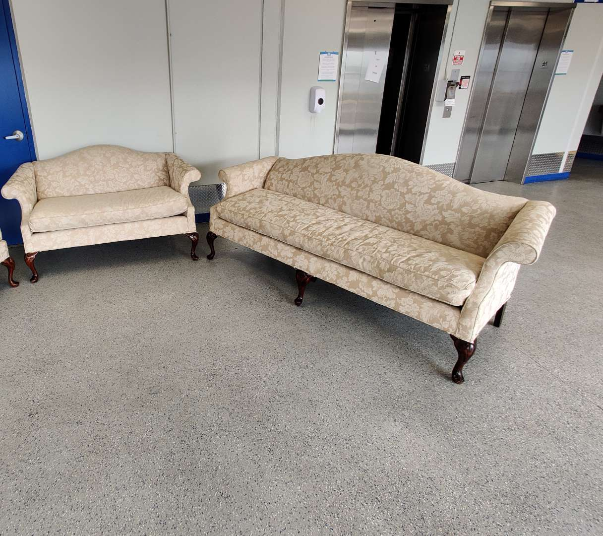 # 165 sofa and loveseat traditional