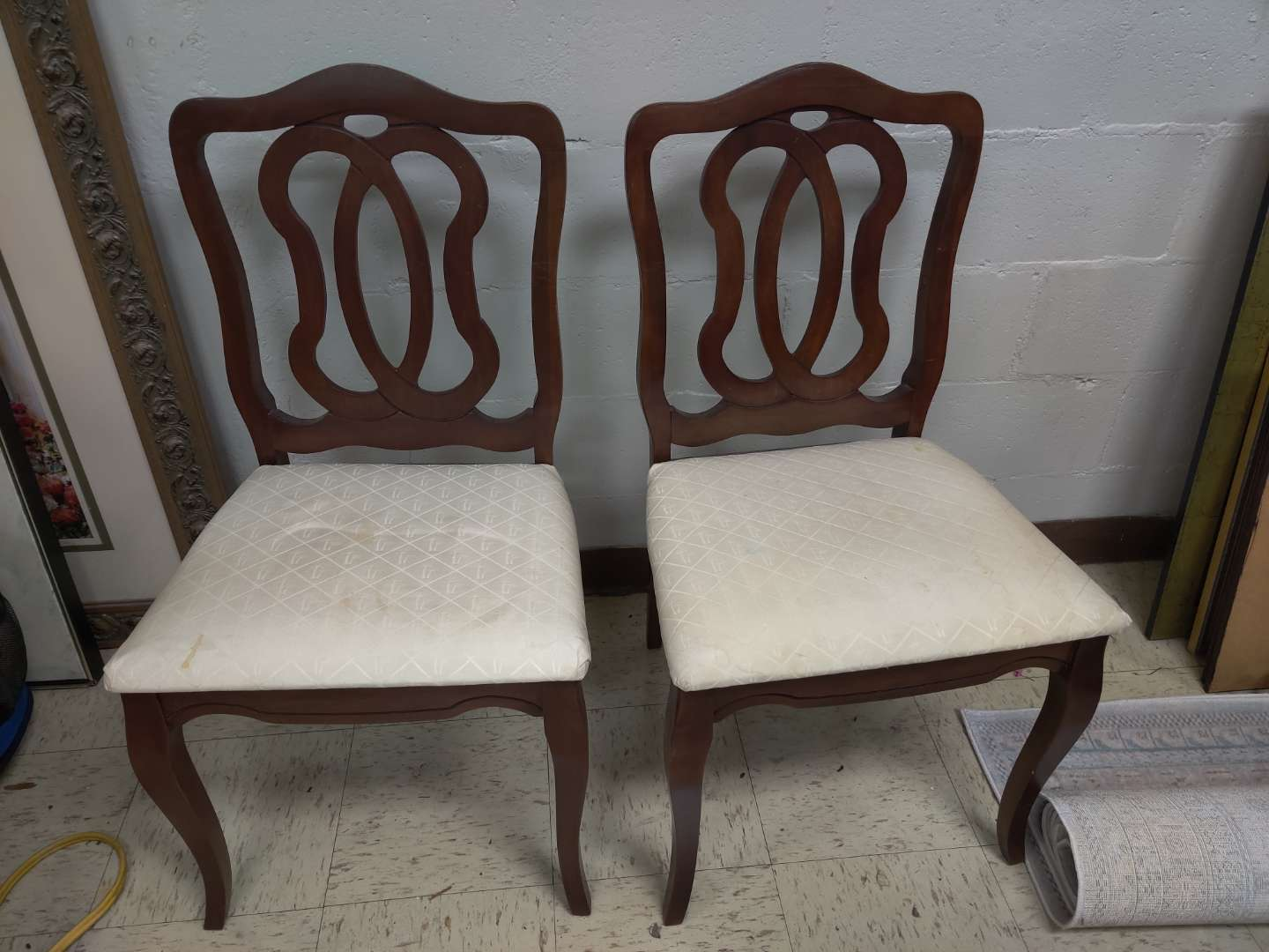 # 169 pair of French accent chairs
