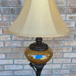 Auction Thumbnail for: Lot # 81 Pretty Table Top Lamp W/ Shade