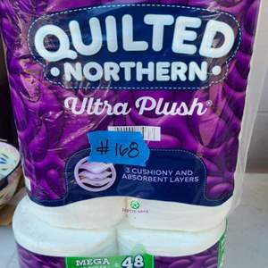 Auction Thumbnail for: Lot # 168 Quilted Northern Toilet Paper (2 Packs)