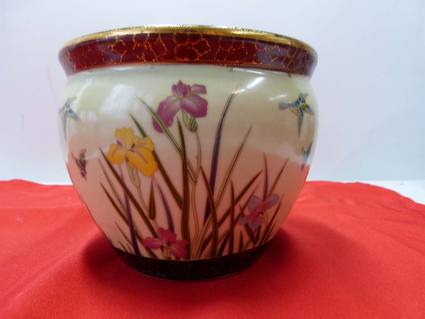 Lot # 101  Oriental STYLE porcelain planter by New England Pottery Company (main image)