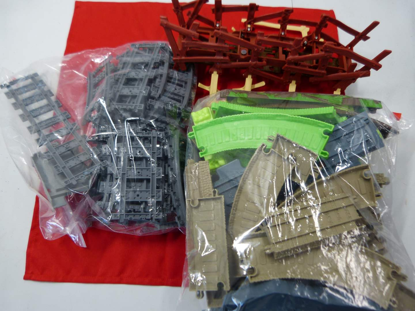 Lot # 214  Collection of Thomas the Train track