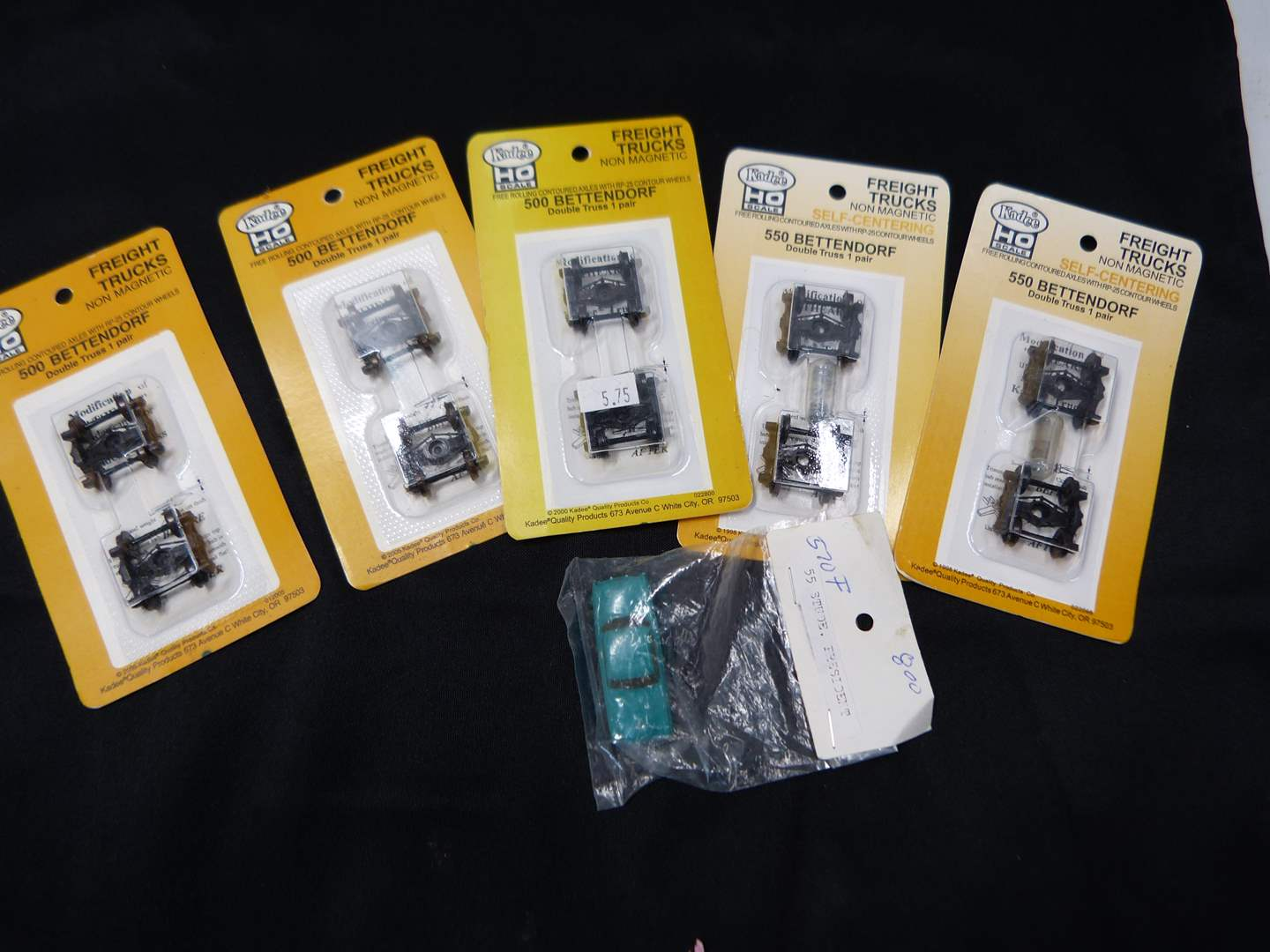 Lot # 245  Lot of HO Train accessories (if you are a train person check out all the lots) (main image)
