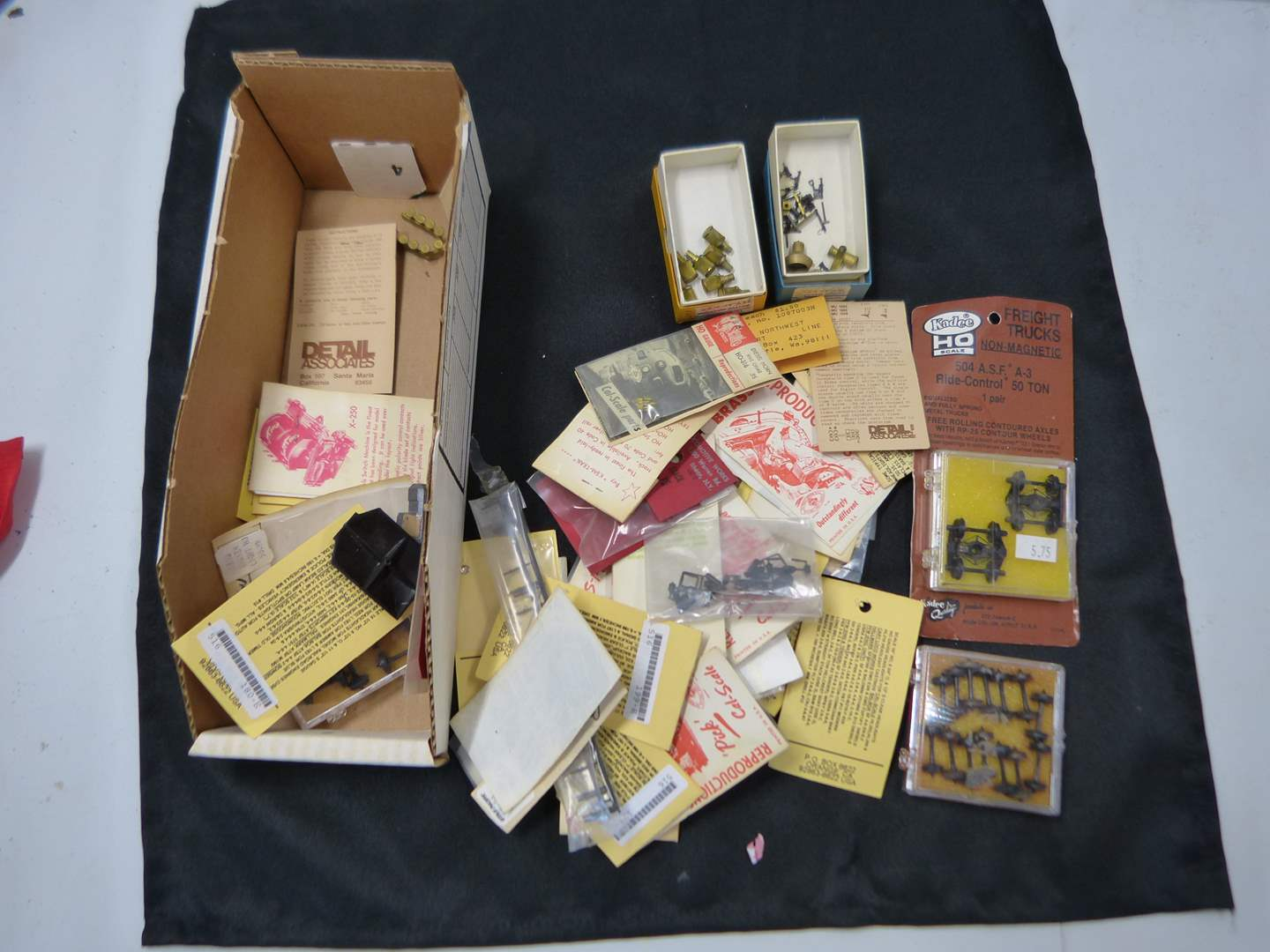 Lot # 246  Lot of HO Train accessories (if you are a train person check out all the lots)