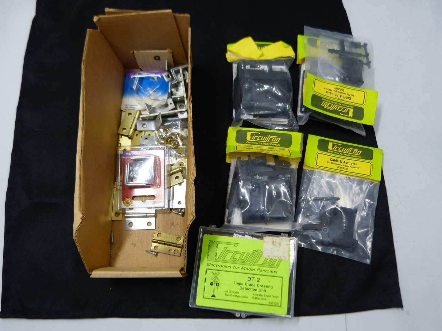 Lot # 247  Lot of HO Train accessories (if you are a train person check out all the lots)